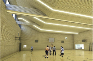 De gymzaal van Stichting Villa Vonk